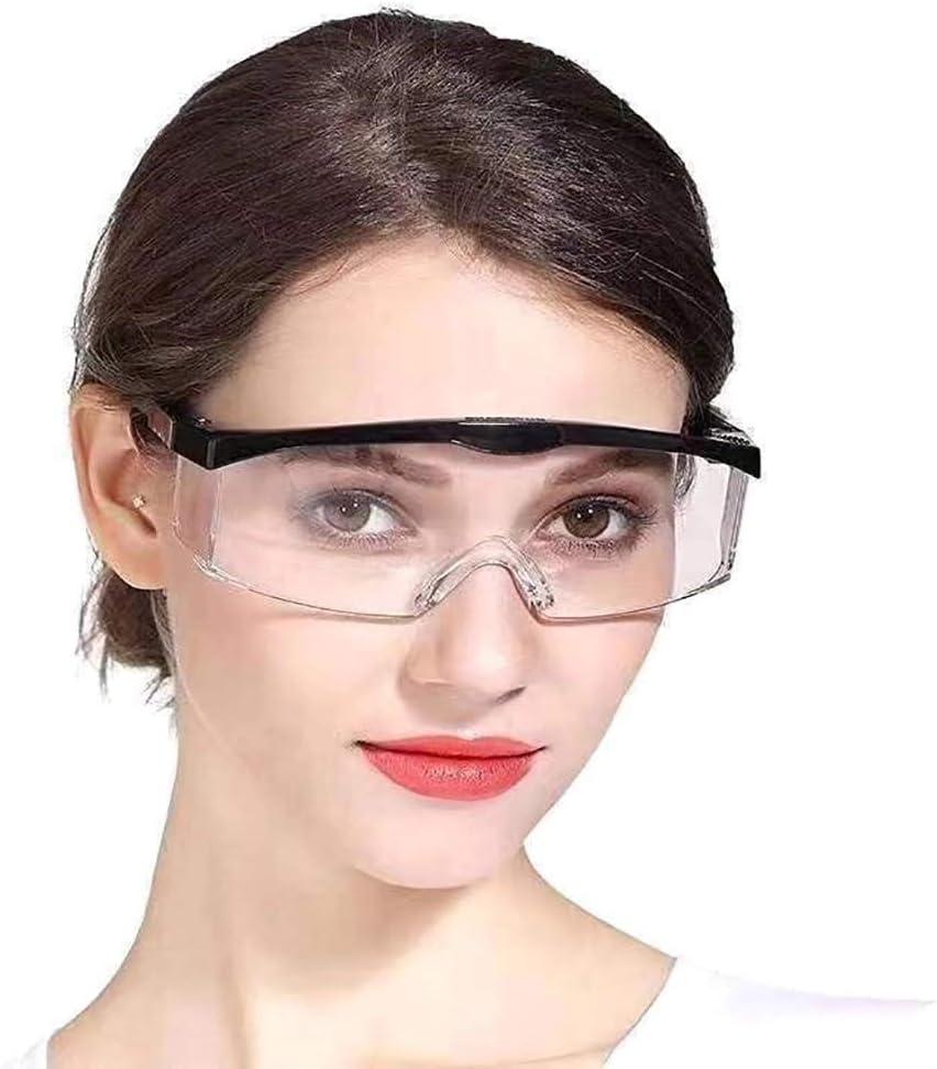 3 gafas antivirus, de alta calidad, retráctiles y ajustables, multifuncionales