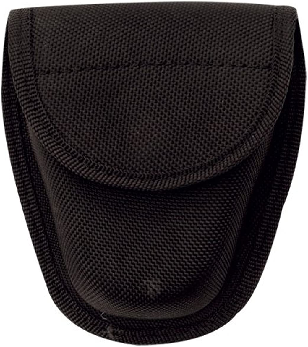 "Tru-Spec 9036000 Black Hid Snap Double Nylon Handcuff Case 5-1//3/""x 4-1//2/"""