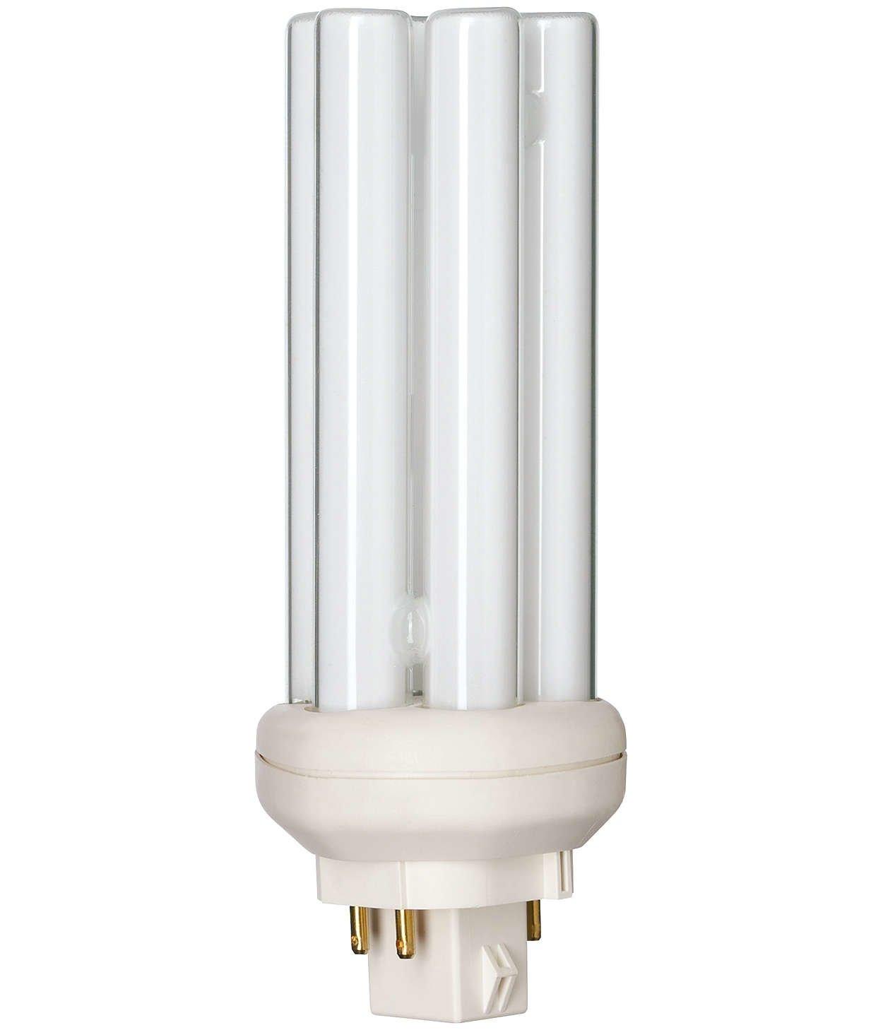 Philips Master PL-T 4P, 26 Watt –  26 W/Gx24q-3/840– 4000 K, Blanc Froid 26Watt-26W/Gx24q-3/840-4000K 0250-026840p B000ONJUAE