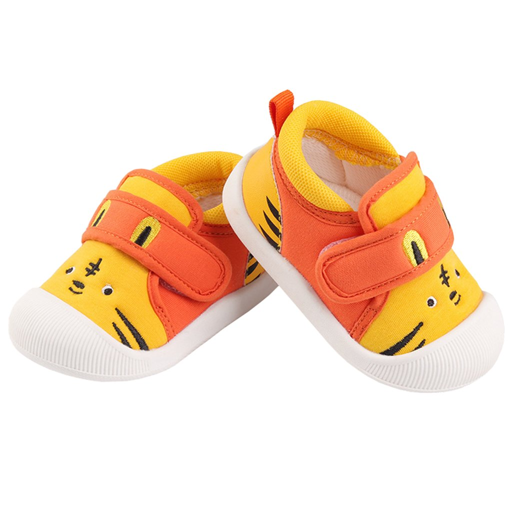 Annnowl Baby Sneakers Rubber Sole Cartoon Shoes