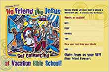 Vacation Bible School 2012 No Friend Like Jesus Promo Poster VBS: Get Connected ...