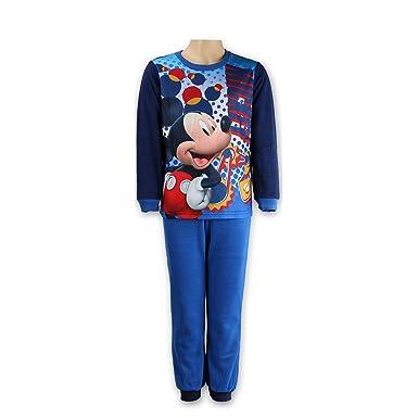 Mickey Mouse - Pijama Dos Piezas - para niño Azul 3 Años