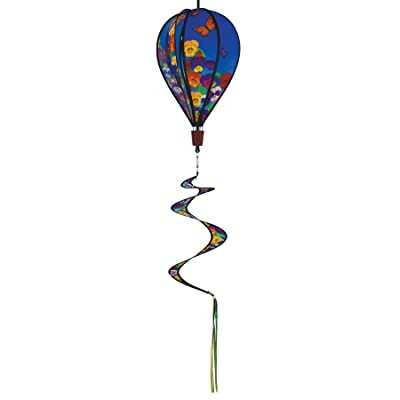 In the Breeze 0988 Spring Pansies Hot Air Balloon Wind Spinner-Outdoor Hanging Decoration : Garden & Outdoor