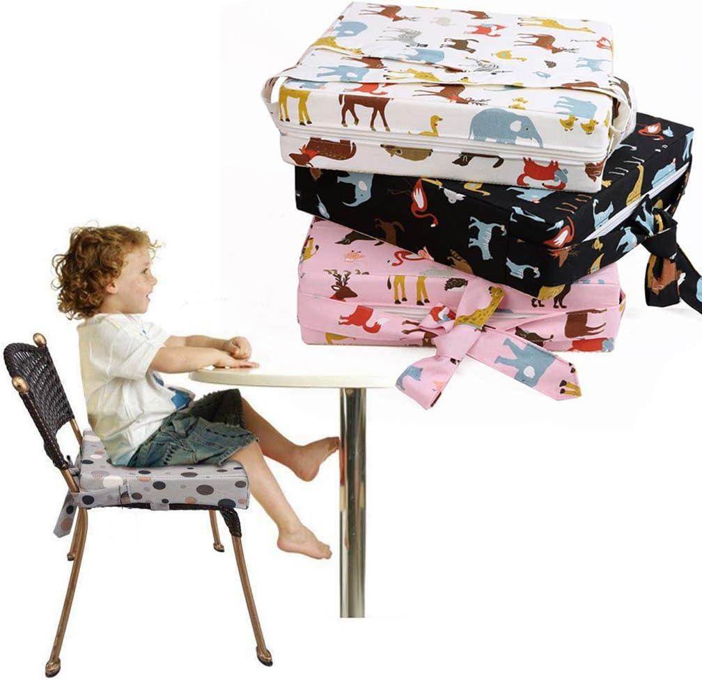 R/églable Enfants /À Manger Chaise Haute Si/ège Pad Yanhonin Coussin Rehausseur Chaise Enfant Mod/èle Animal B/éb/é Coussin De Si/ège De Confortable