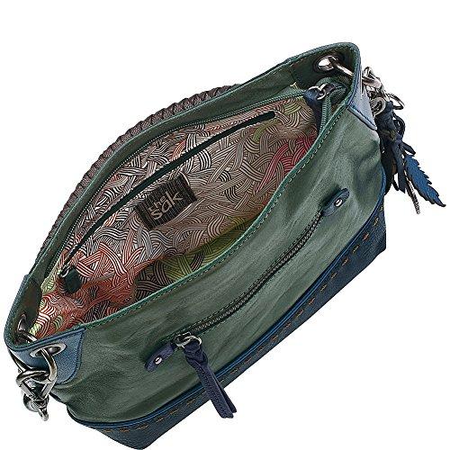 Block Shoulder Indio SAK The Bag Demi Forest qvz8xzYpw