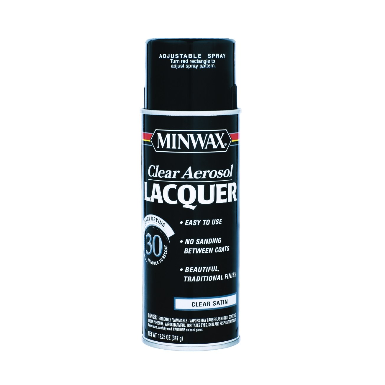12.25 Oz Clear Brushing Lacquer Spray Satin [Set of 6]