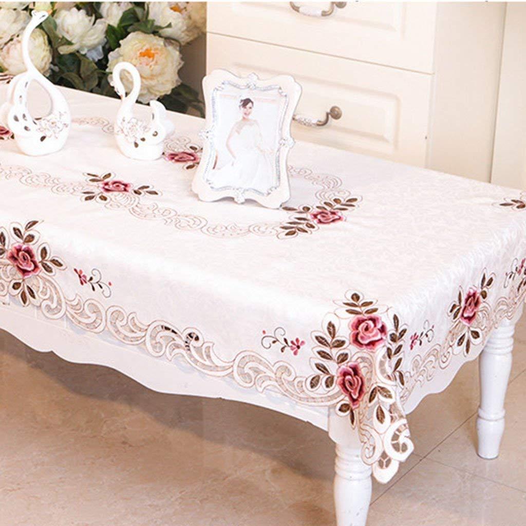 洗えるテーブルクロス テーブルクロス防水、アンチケルディング、オイルルーフ、清掃が簡単、現代的、シンプル、厚手、テーブルクロス、コーヒーテーブルクロス (Color : 130*172cm)  130*172cm B07SDRP77M