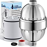 Ezelia 15 Stage Shower Filter for Hard Water, High Output Universal Shower Head Filter, Reduces Dry Itchy Skin and…