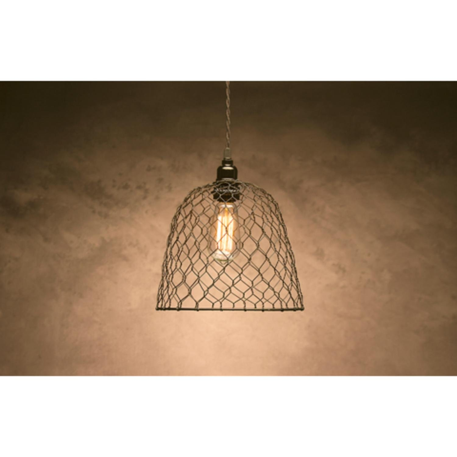darice 10 cleveland vintage lighting black chicken wire dome lamp