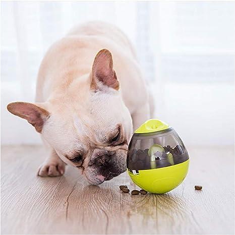 sanlinkee Bola de Comida para Mascotas, dispensador de Pelotas de ...