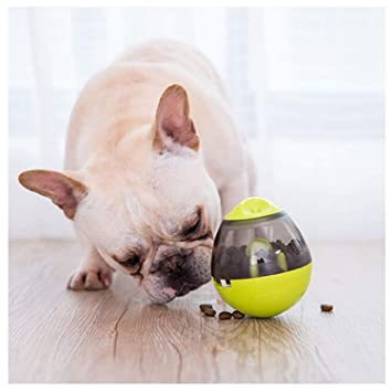 SANLINKEE - Bola dispensadora de Comida para Mascotas con Bola de Comida para Perro, dispensador de Comida para Perros y Gatos, dispensador de Aperitivos: ...
