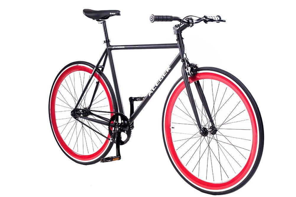ACEGER Bicicleta Urbana de una Sola Velocidad con Engranaje Fijo ...