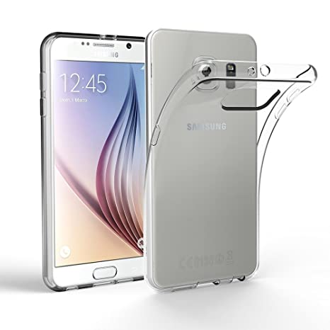 EasyAcc Hülle Case für Samsung Galaxy S6, Dünn Crystal Clear Transparent Weich Handyhülle Cover Soft Premium-TPU Durchsichtig