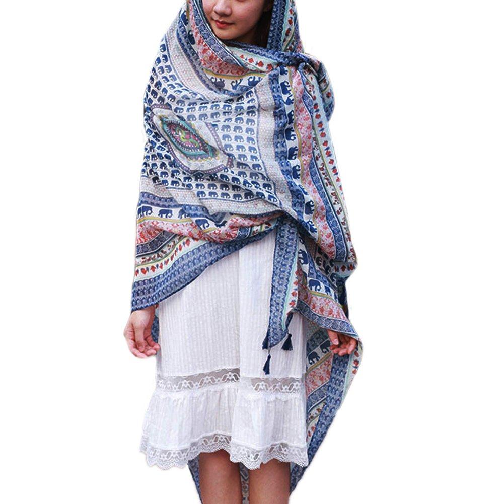 JLTPH Sommer Damen Chiffon Sarong Pareo Wrap Wraps Schal Schals Wickel Sonnenschutz Schal Kleid