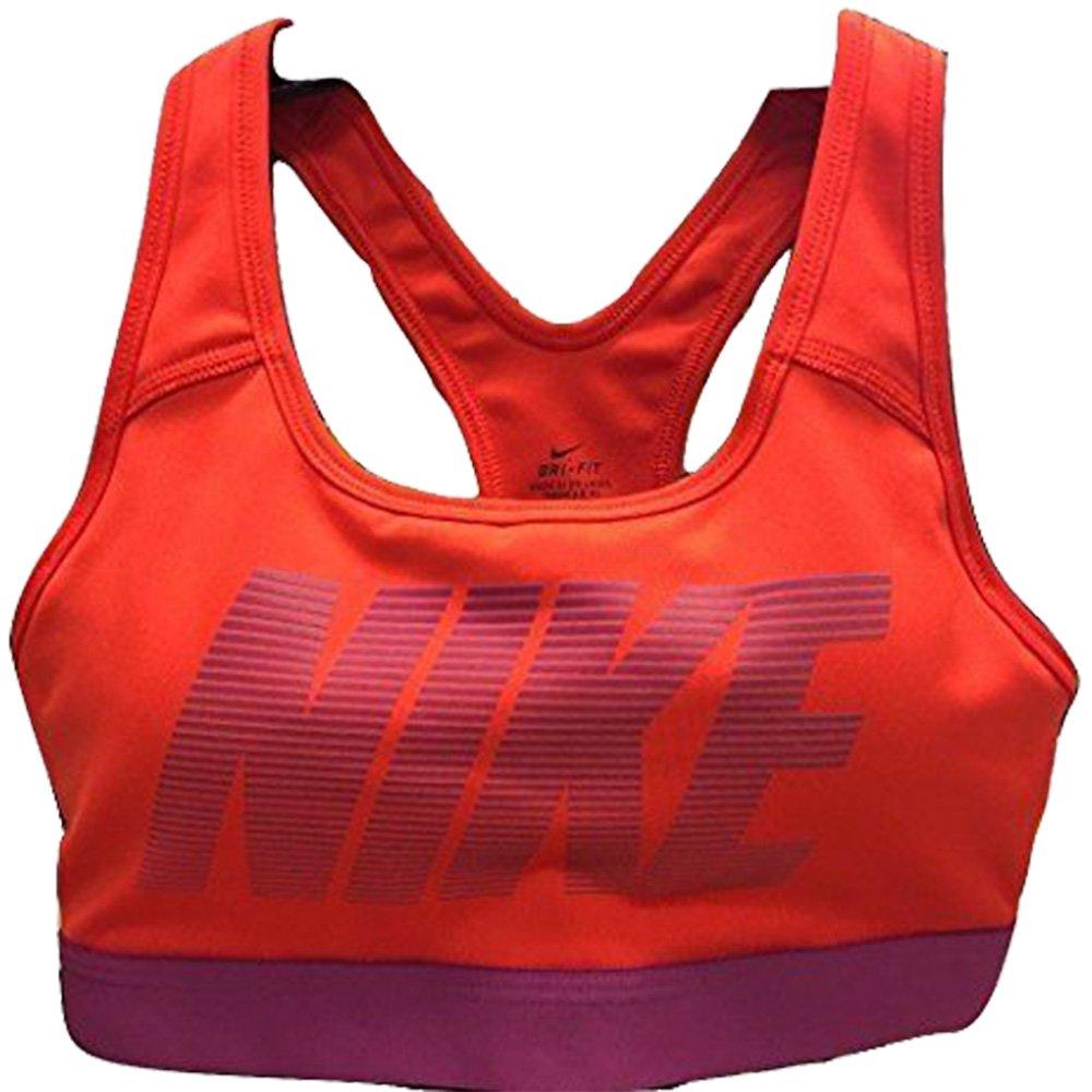 21aa14b9c73 Top1  NIKE Pro Women s Classic Sports Bra Medium Support Red Purple 871784  696