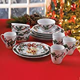 Cheap Brylanehome 16-Pc. Christmas Dinnerware Set