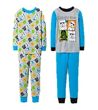 Star Wars Baby Boys Pajamas, 2 PK 4 pc Set - Need Some Space 2t