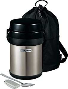 Zojirushi Mr. Bento Stainless Lunch Jar, 41 Oz