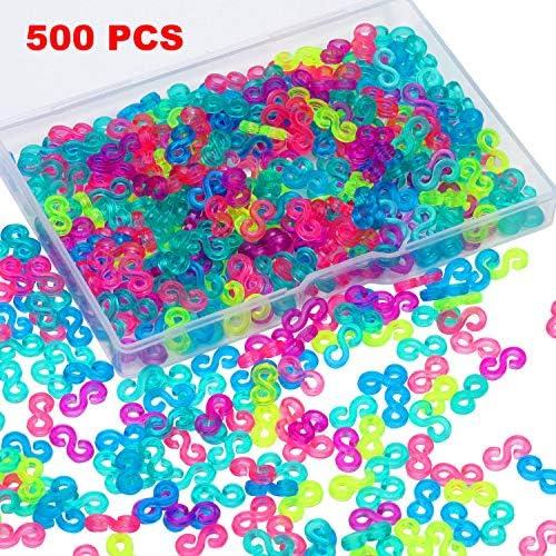 Plastic Connectors Refills Bracelets Colorful product image