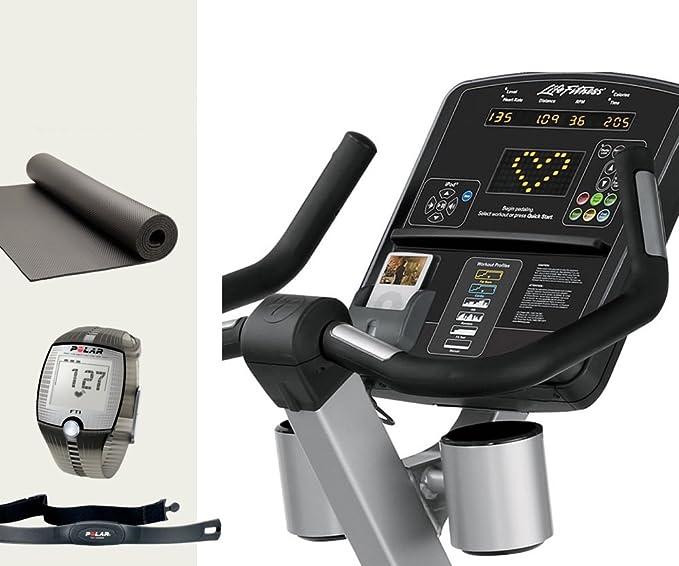 Life fitness club serie life cycle asiento Ergometer CSLU ...