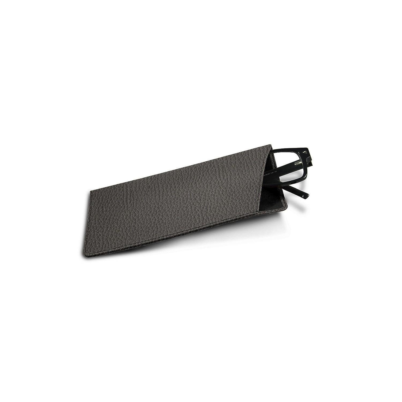 Lucrin - Custodia per occhiali misura standard - Pelle Ruvida Lucrin - Pelletteria di lusso da personalizzare