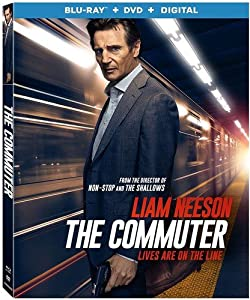Cover Image for 'Commuter, The [Blu-ray + DVD + Digital]'