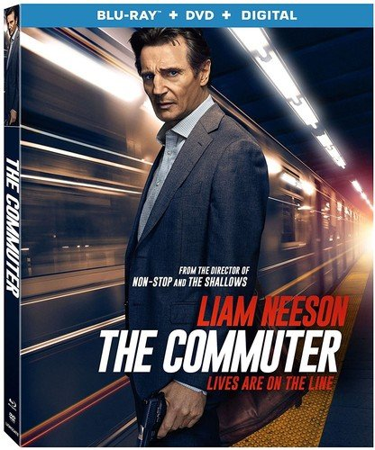 Blu-ray : The Commuter (With DVD, Subtitled, 2 Pack, Widescreen, AC-3)