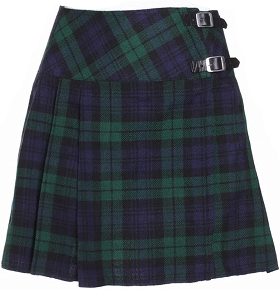 The Scotland Kilt Company Nuevo de Mujer Reloj Negro de Cuadros ...