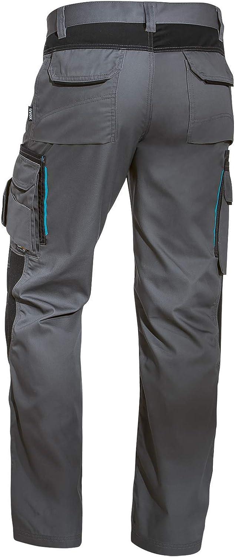 Electricien Plombier pour lutilisation : Chantier Carreleur avec Poches Genouill/ères Pantalon de Travail Menuisier Uvex Tune Up Pantalons de S/écurit/é Cargo Homme