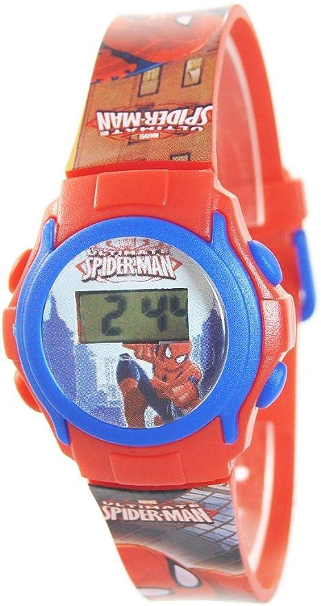 Spiderman - Reloj digital en blíster (Kids Euroswan MV10030)