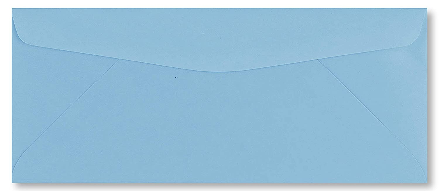 50 Business Envelopes, Standard Flap (Green, 9.5 x 4.125) 9.5 x 4.125) All In Printing NY Corp 1000004