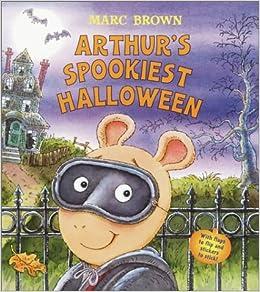 arthurs spookiest halloween marc brown 9780375810046 amazoncom books