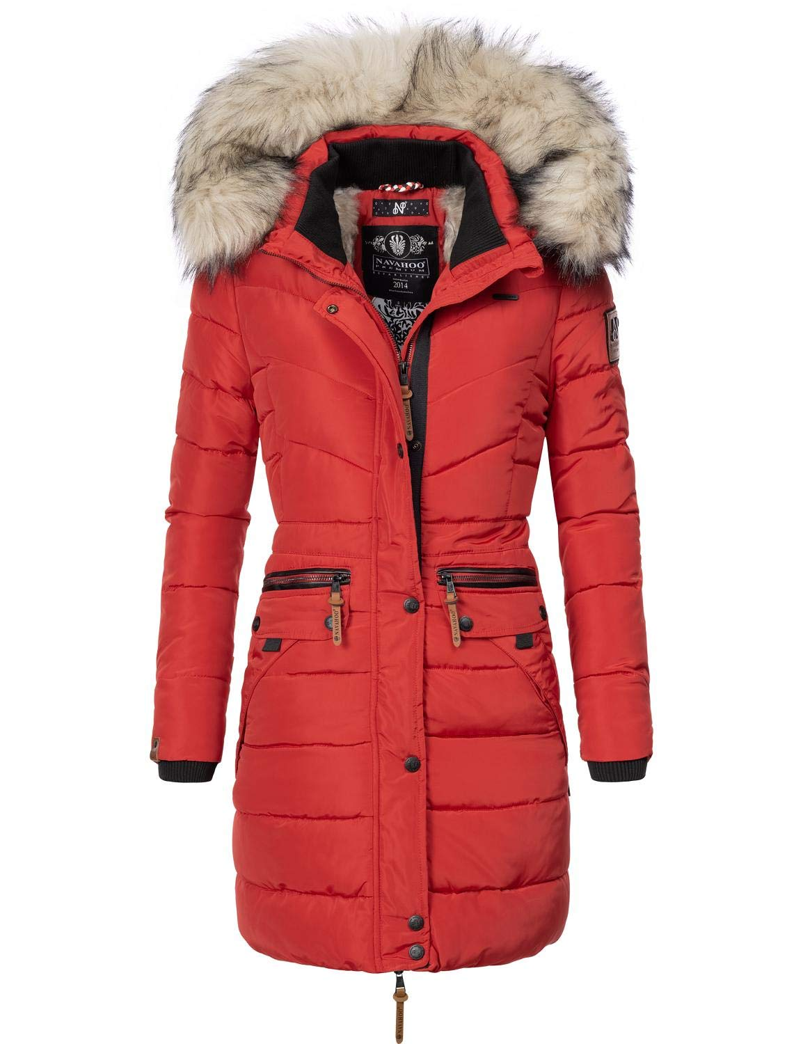 Winter Parka XL Fur Hood Geographical Norway Womens Jacket Belissima