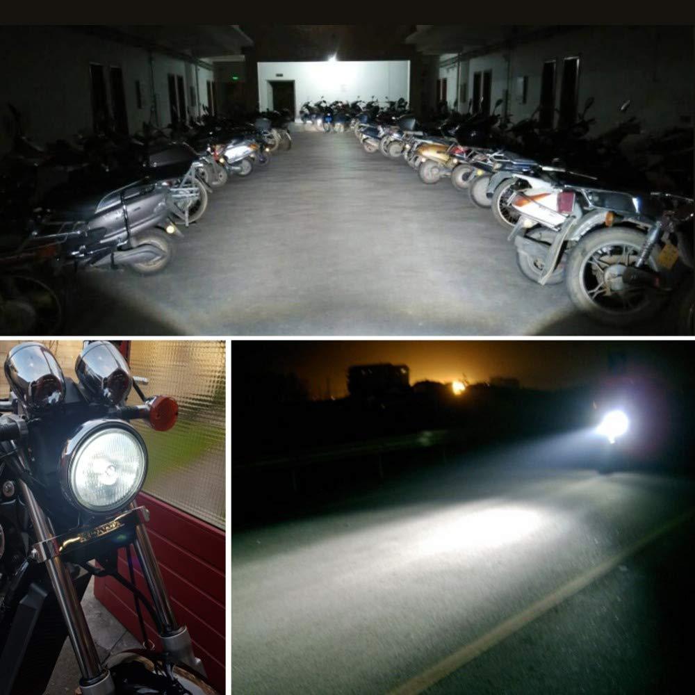 CHENGSHUN Bulbo H4 LED de la Motocicleta de la Linterna LED de 12V HS1 H4 LED Super Brillante de la Motocicleta 3400lm Blanca de la Motocicleta Vespa Faro Accesorios de la Motocicleta
