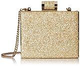 Halston Heritage Women's Box Minaudiere Evening Bag Gold, One Size
