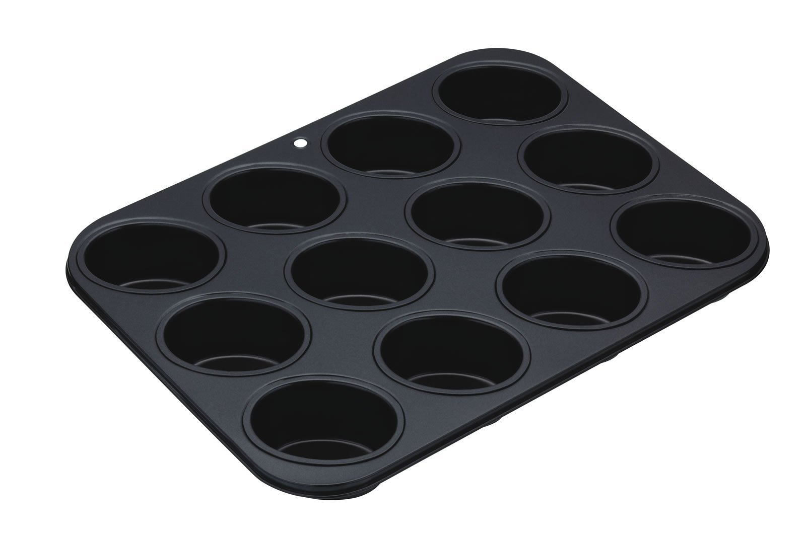 Kitchencraft Masterclass 12-hole Non-stick Friand Tin, 35.5 x 26.5cm