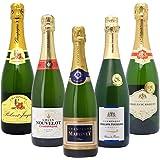 高コスパ・高品質シャンパン5本セット((W0CG02SE))(750mlx5本ワインセット)