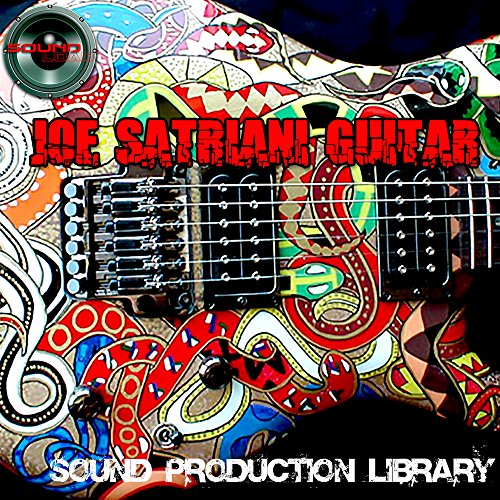 Joe Satriani Guitar - HUGE Perfect 24bit WAVE Multi-Layer Samples/Loops/Grooves Library on DVD or download by SoundLoad