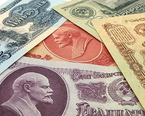 Hobby of Kings 1961 RUSSIA USSR CCCP SOVIET PAPER MONEY BANKNOTES SET ROUBLES COLLECTION LOT