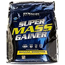 Dymatize Nutrition, Super Mass Gainer Banana Smoothie 12 lbs