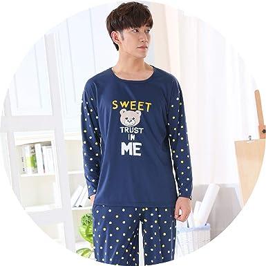 Amazon.com: crazy-shop Pajamas Set para Hombre Dormir Oso ...