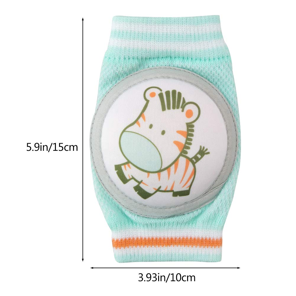 Anti-Slip and Soft Thick Pads Protect Elbows and Leg 3 Pairs for Boys /& Girls Sibosen Baby Knee Pads for Crawling Style 2