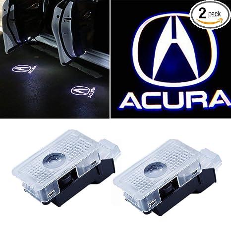 Amazon.com: FLYOX Luz LED para puerta de coche, proyector de ...