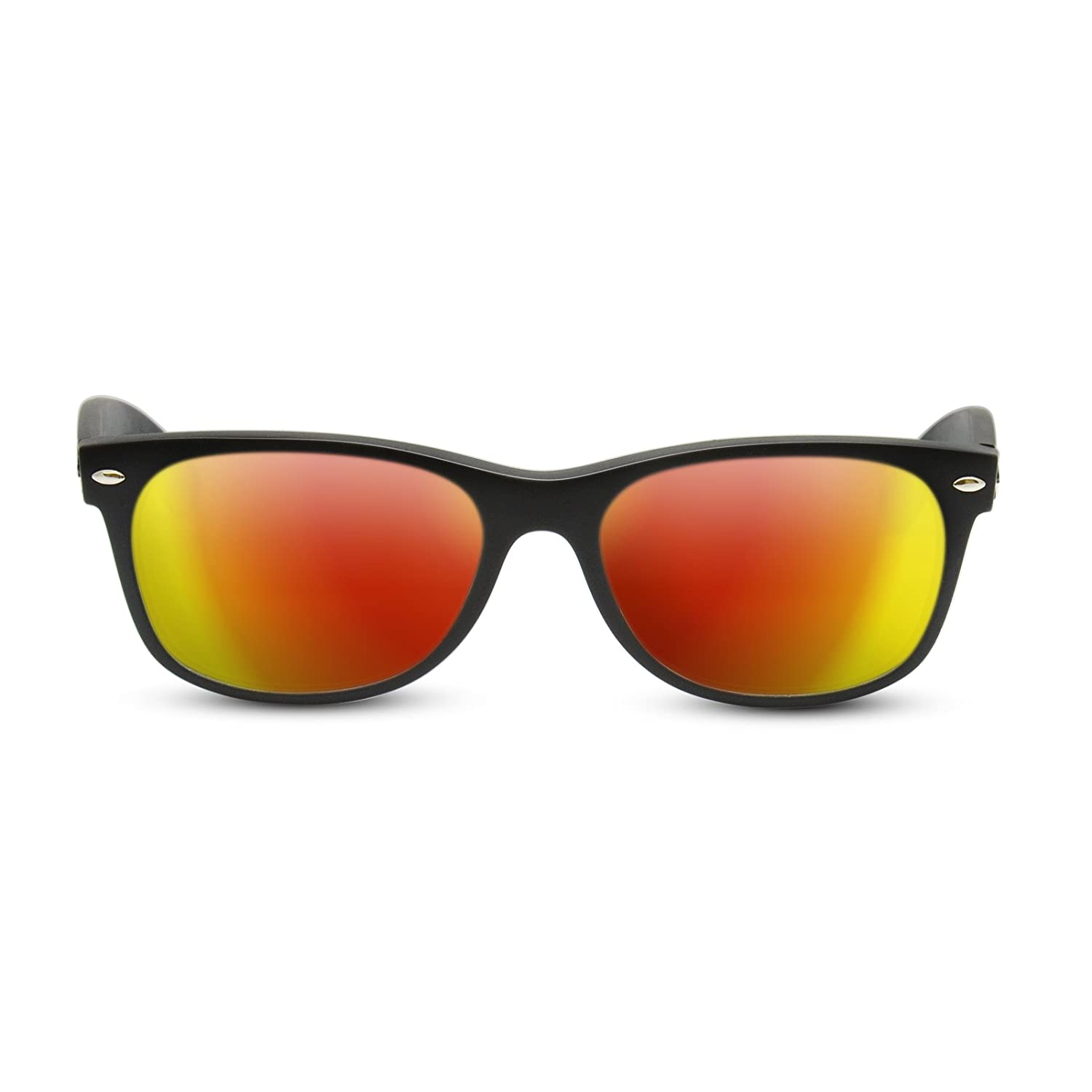 0474d8b827 Amazon.com  Dark Brown Replacement Lenses for Ray Ban RB2132 New Wayfarer  55mm  Clothing