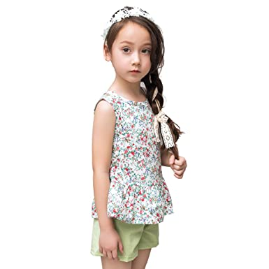 da1ed32e0a1bf 子供服 キッズ アンサンブル 女の子 上下セット ガールズ Tシャツ 夏 スカート パンツ 2点セット