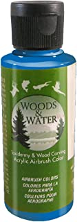 product image for Badger Air-Brush Co. 4-Ounce Woods and Water Airbrush Ready Water Based Acrylic Paint, Blue
