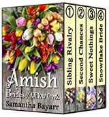 Amish Brides of Willow Creek: Amish Christian Romance Collection: 4 Book BOXED SET