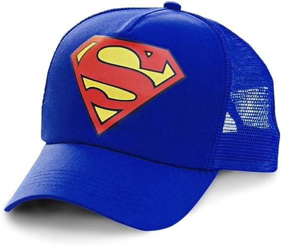 Logoshirt Gorra Superman Logotipo - DC Comics - Visera Superman ...