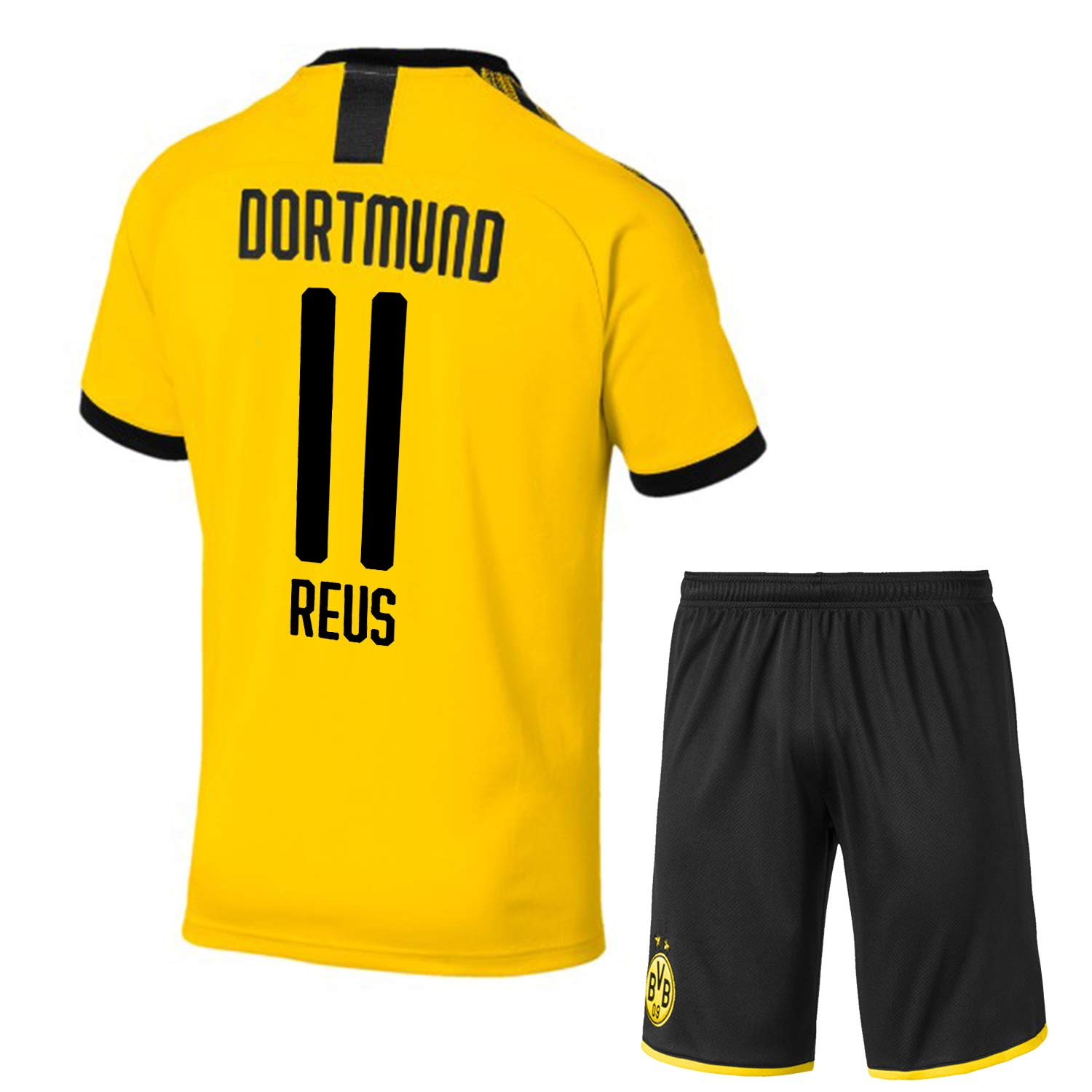2018 19 Reus 11 Printed Bvb Borussia Dortmund Jersey Borussia Dortmund Half Sleeves Master Quality Away Football Jersey With Shorts Imported Master Quality With Bundes Liga Patch On Arm S Amazon In Sports Fitness