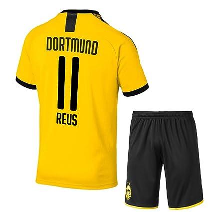 timeless design 8b177 a3b73 Buy 2019-20 Reus ## 11 Printed BVB Borussia Dortmund Jersey ...